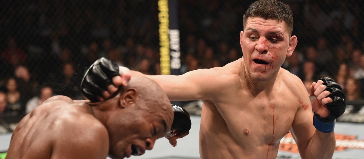 Nick Diaz vs. Anderson Silva