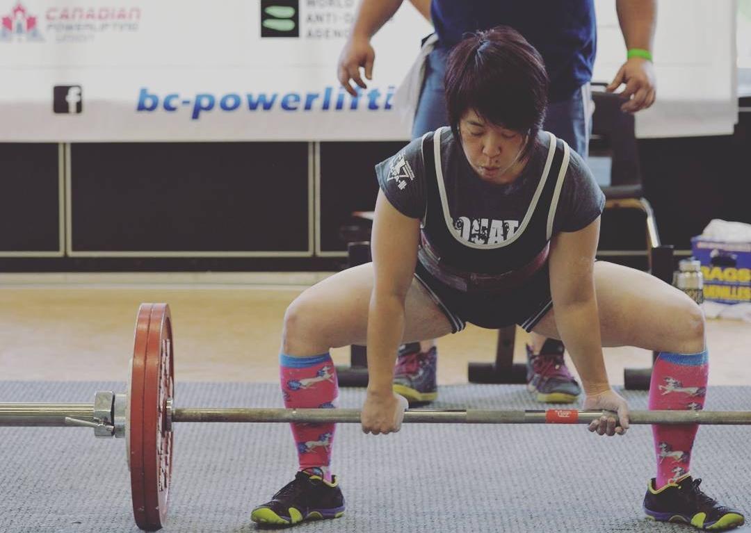 GCPT Powerlifter: Wendy Yamazaki @ BCPA Provincials 2017
