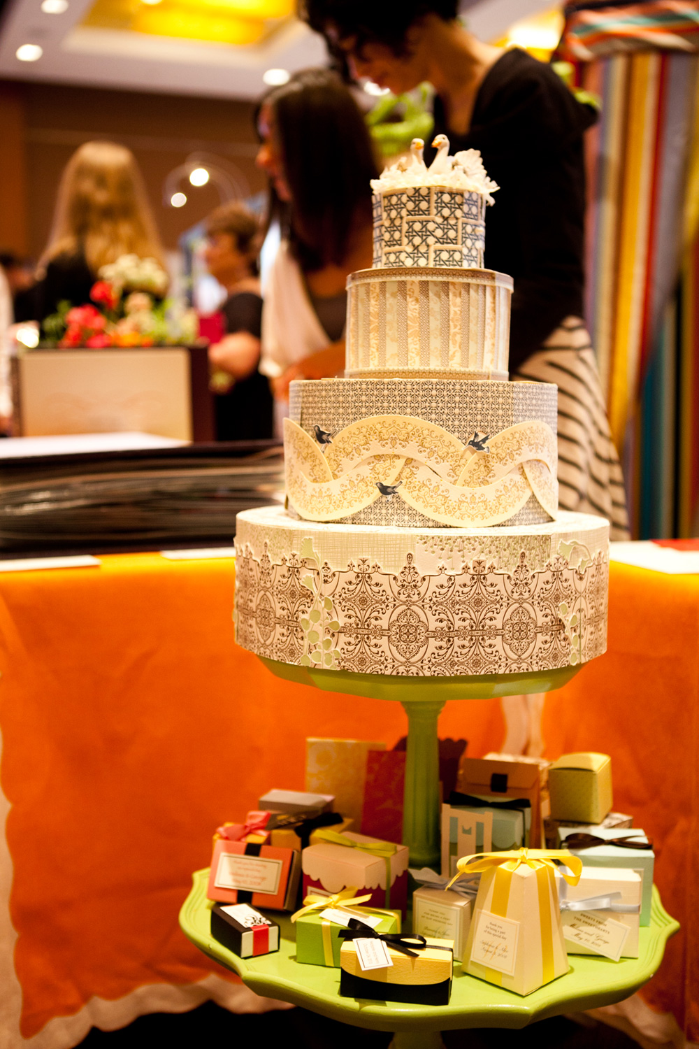 Wedding cake, bridal shows