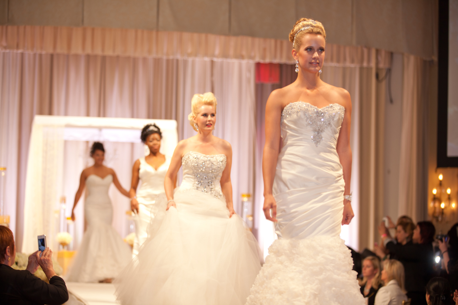 bridal gowns at The San Diego Wedding Party