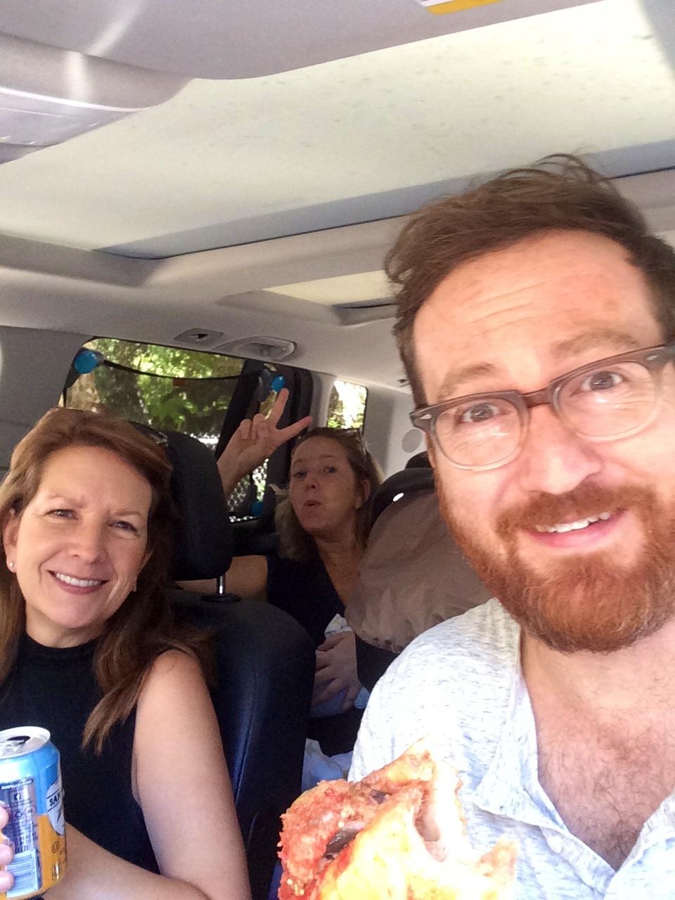 Picnic in the car