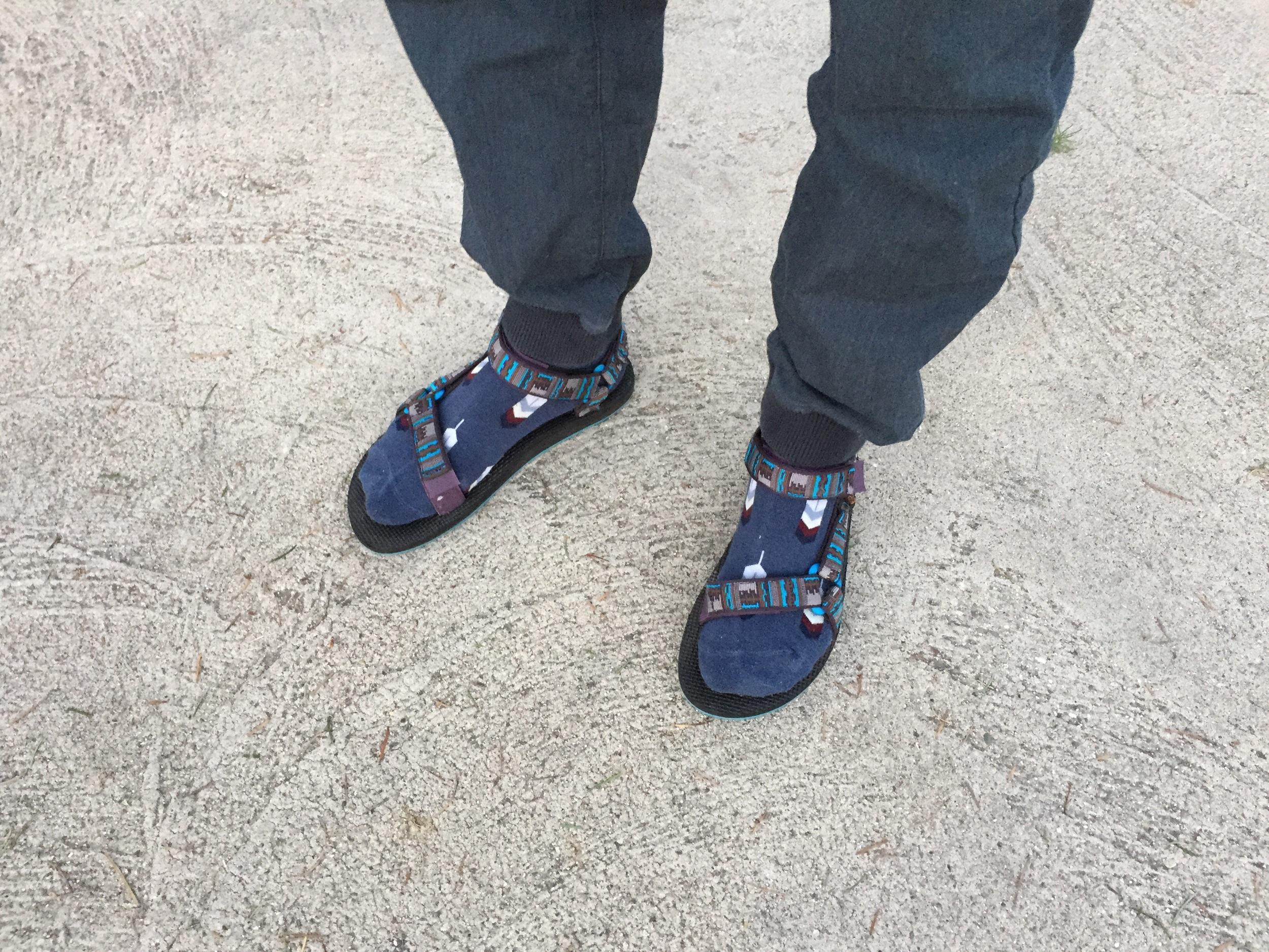 Dad wore is best... Socks and Tevas
