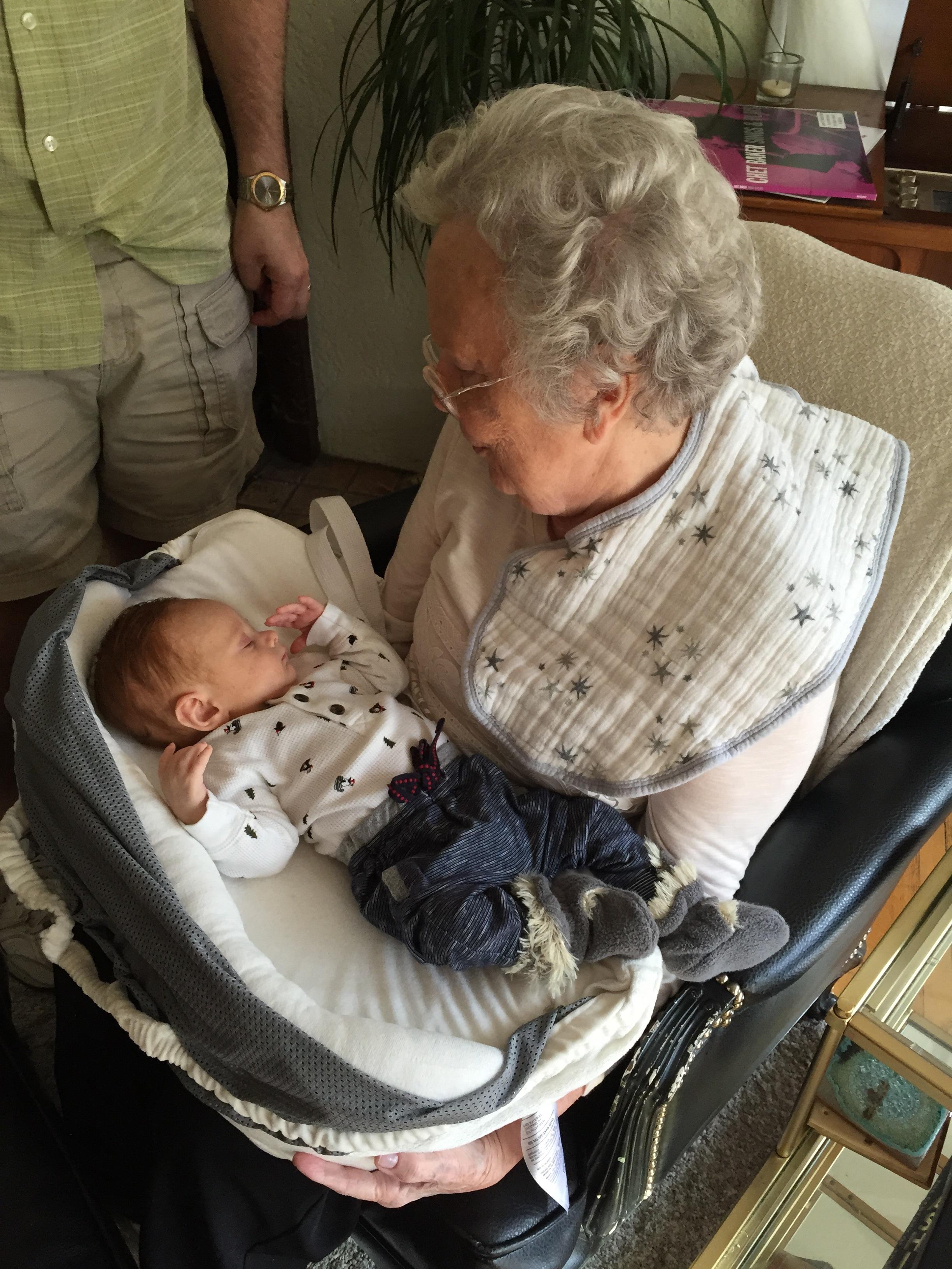 Meeting great Granny ❤️❤️❤️❤️