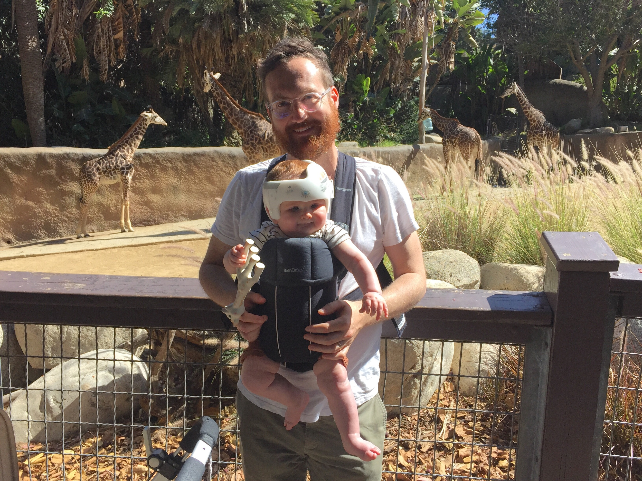Nico enjoyed his visit to the zoo!