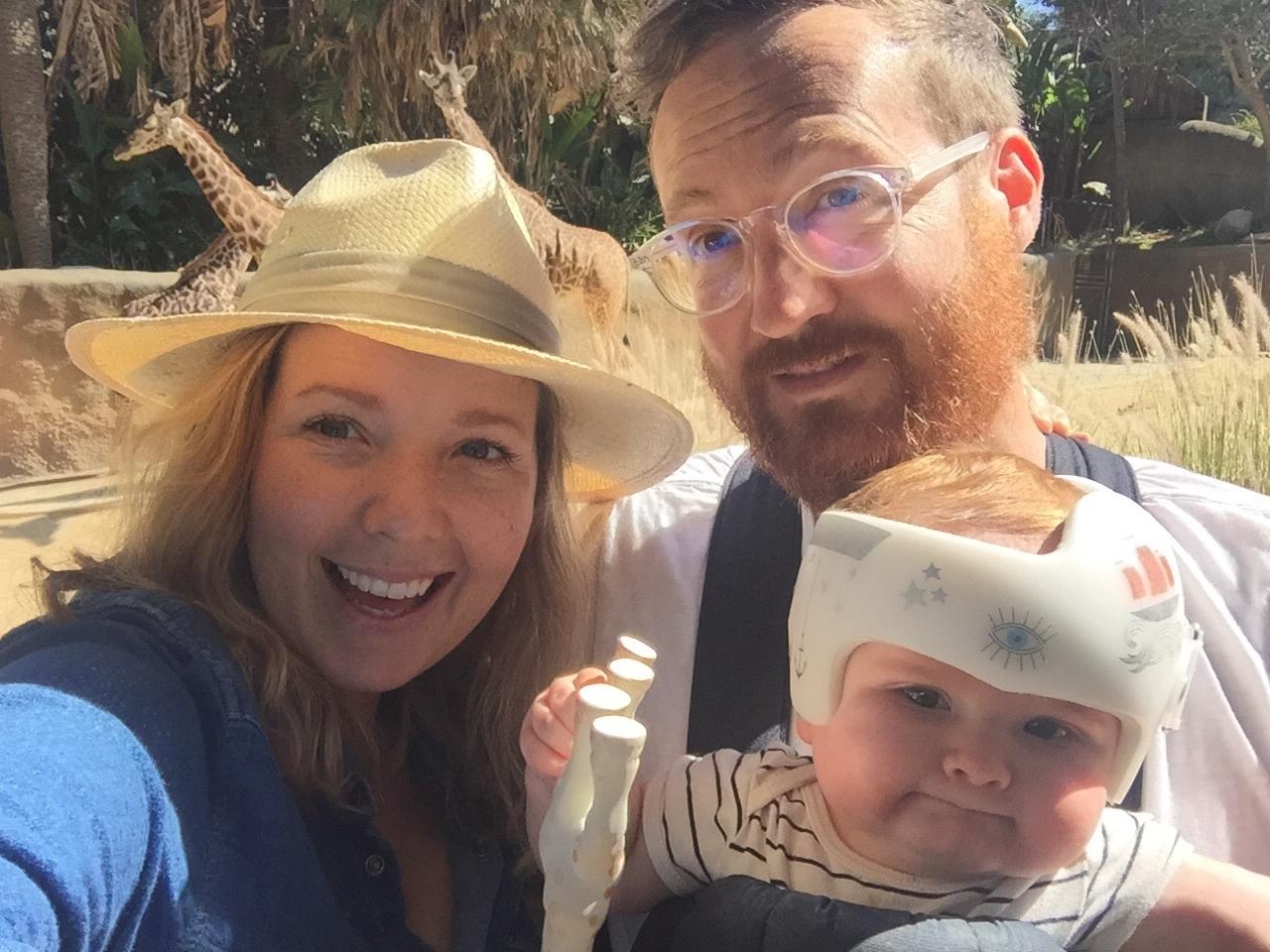 Awkwardly awesome family selfie