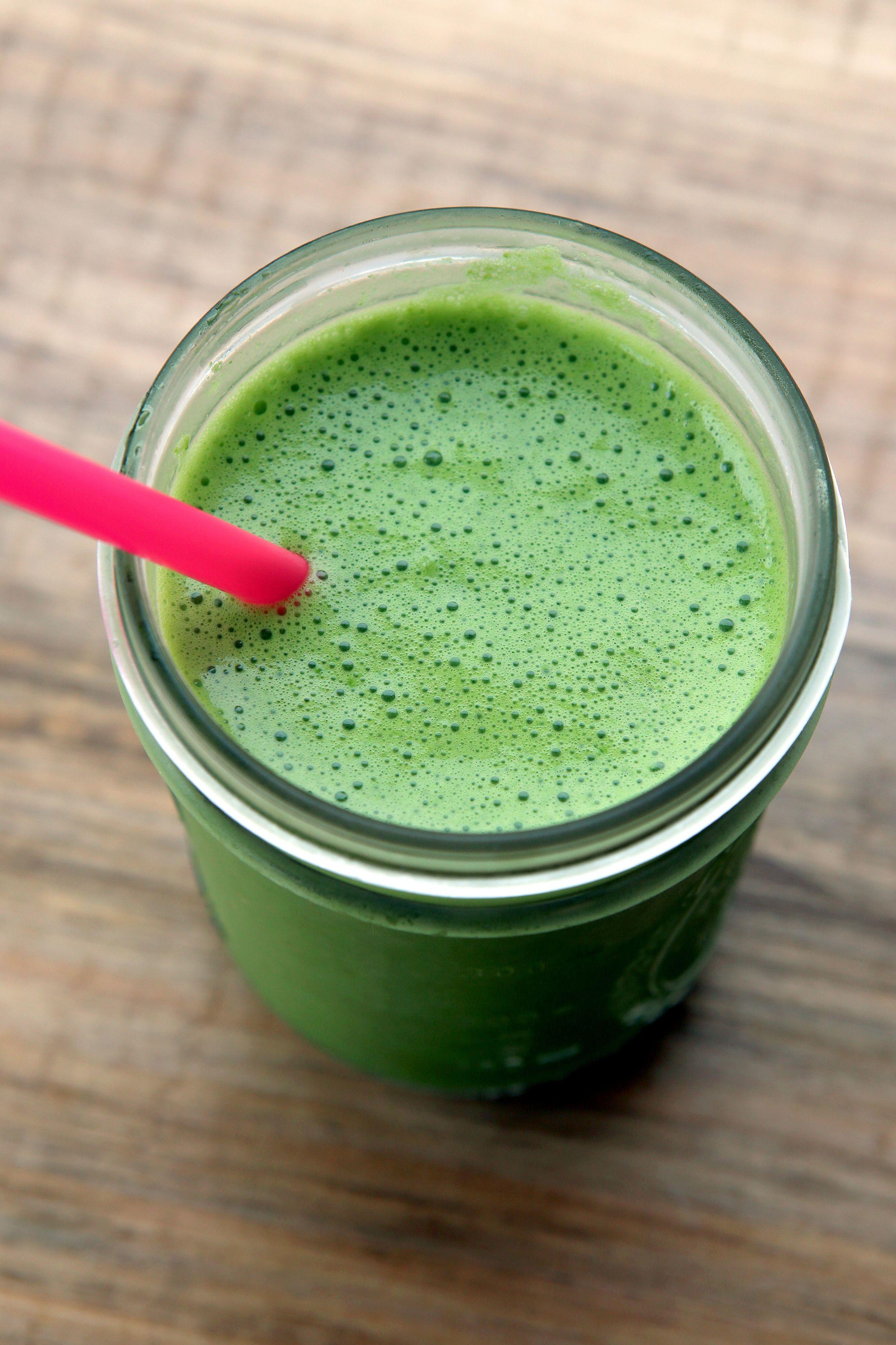 CAL:207/310.5C:34/51 F:3/4.5 P:10/15  avocado | spinach | ginger | lemon | cucumber | pear | honey | coconut water