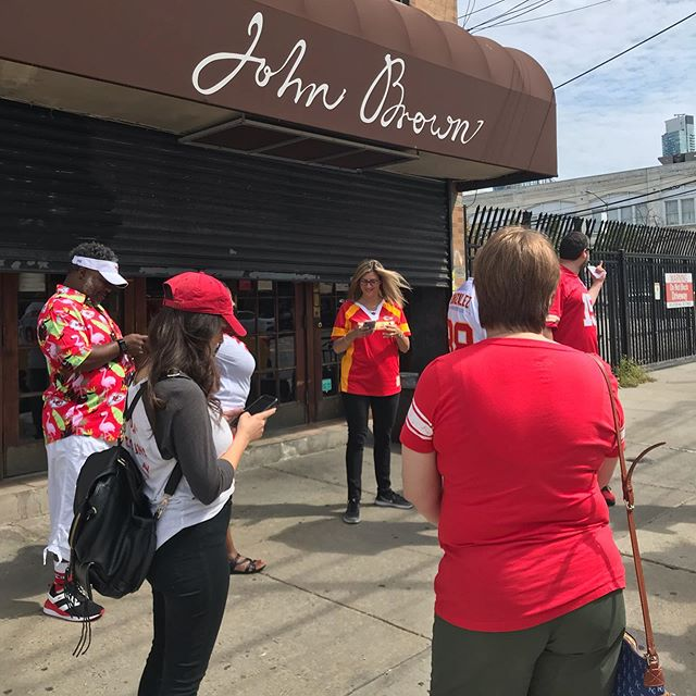 Chiefs hang out for first reg season game, NY