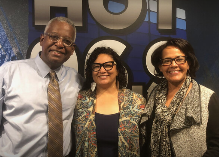 Voices with Pebbles: Lisa Simmons & Clennon King (The 21st Roxbury International Film Festival) (AUDIO) - Jun. 18, 2019