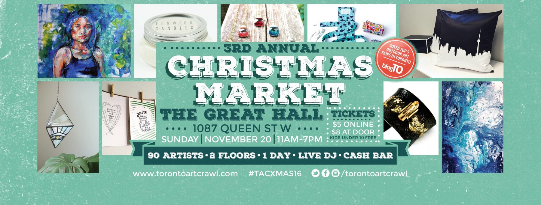Top 10 Things To Do at the Toronto Art Crawl Christmas Market