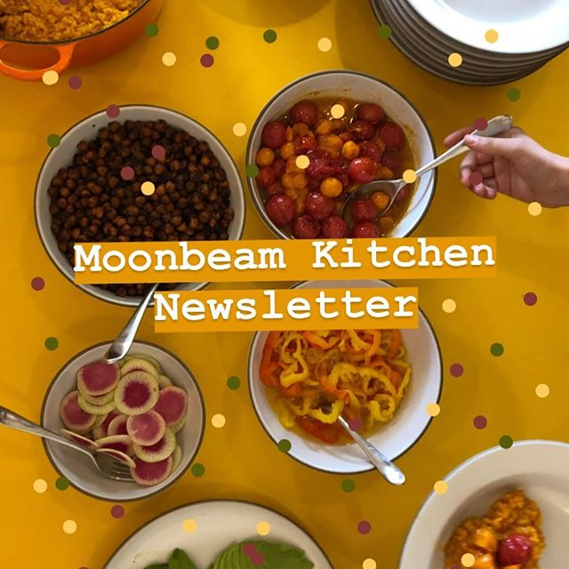 """*reposting after a """"moonbean"""" typo was caught by none other than @lizprueitt_tartine herself • 🧀I'm starting a Moonbeam Kitchen newsletter! On top of all my cooking, I do lots of other things that involve food (pop ups, writing, interviews...) and thought it would be fun to have a more personal way to share updates. Sign up on the homepage of my website to get special deliveries to your inbox. Link up top.🌝"""