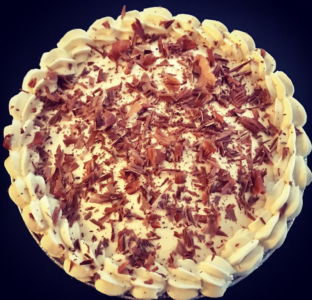 Thanksgiving Chocolate Cream Pie