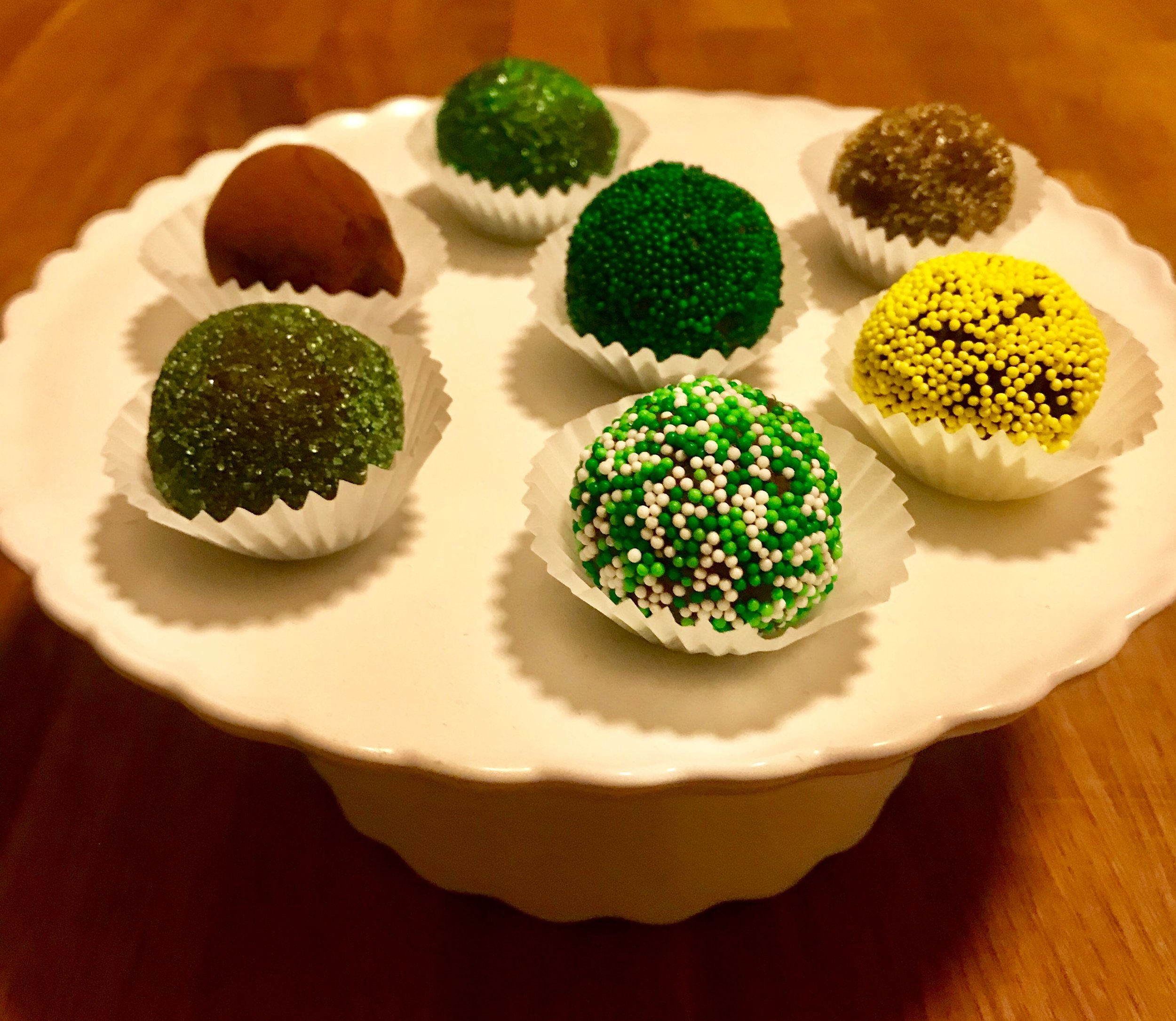 St Patricks Day Chocolate Truffles