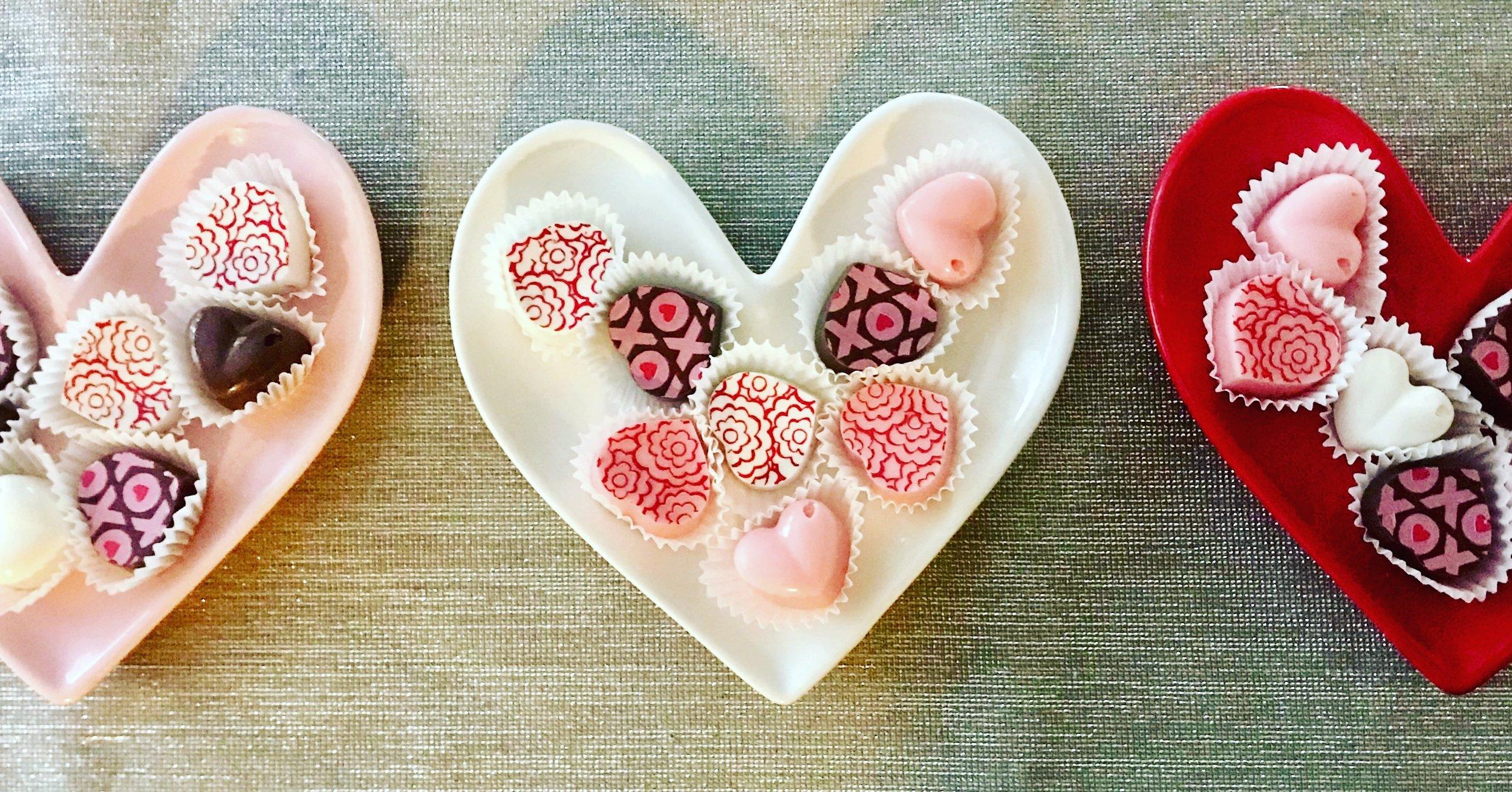 Valentines Day Chocolate Truffles