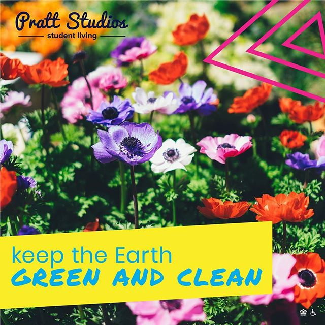 """In honor of #NationalEarthDay we encourage you to make a difference even in the simplest ways🌎 Turning off unused lights, decreasing water waste, and not using plastic straws are just some of the """"small"""" things you can do to make a huge difference in this world we live in #EarthDay . . . . . #PrattStudios #Saveplanetearth #IUP #gohawks #IndianaUniversityofPennsylvania #talonsup #IUPEdu #IUPproud #collegeliving #IheartIUP"""
