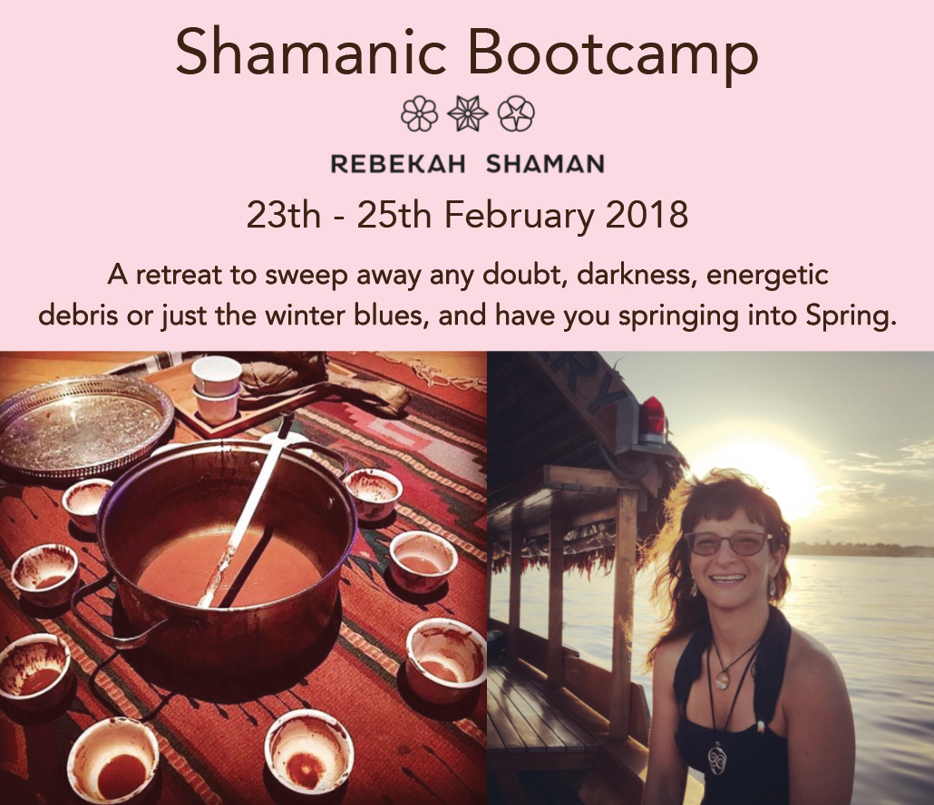 Shamanic Bootcamp with Rebekah Shaman