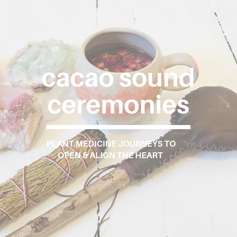 Cacao Sound Ceremonies with Louise Shiels