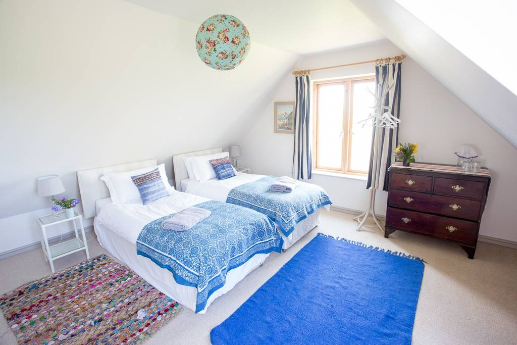 Accommodation in twin rooms