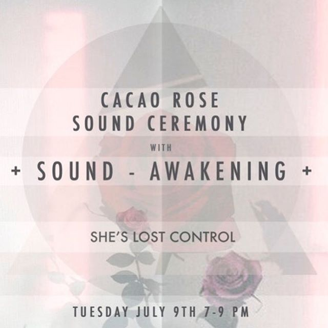 Heading back to the crystal love cave of @slc_london on 9th July for a special Cacao Rose Sound Ceremony with Alchemy quartz crystal bowls. We'll be working with gentle sounds to allow the subtlest expression of the plants to come through.  In the ceremony we'll be focusing on nurturing self-acceptance, love and compassion with the medicine of Rose, clearing out the old to create space for the new with Cacao and grounding us into the heart with Heart Alchemy Crystal Bowls. These bowls work on many layers to guide the heart to inspire the mind using rich harmonic overtones and high  frequencies. We will also be using other soothing sounds to soften the edges and soothe the system. A small intimate gathering open to all 🤗💖 Booking is open now through the link in bio 🌹💖🌹💖 #sheslostcontrol #plantspiritmedicine #rose #love #hearthealing #cacaoceremony #cacao #crystalhealing #crystalsingingbowls