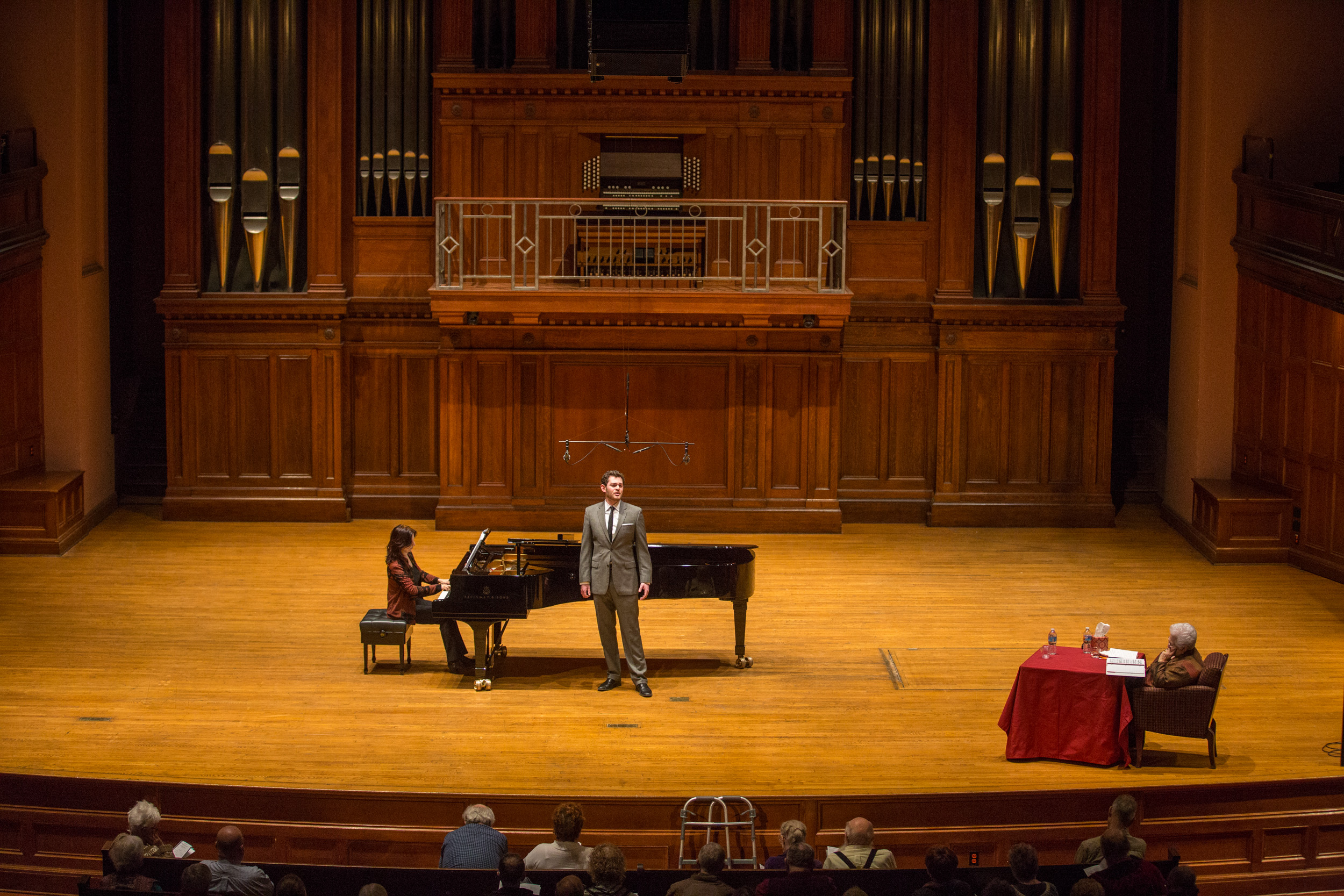 The Marylin Horne Residency at Oberlin Conservatory 2016