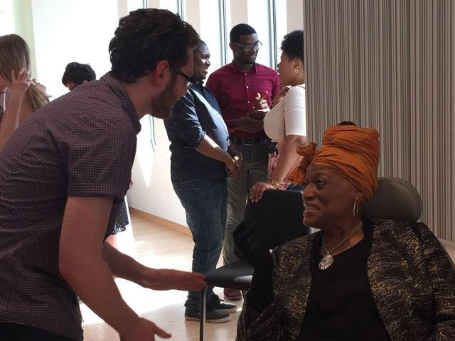 Speaking with Ms. Jessye Norman