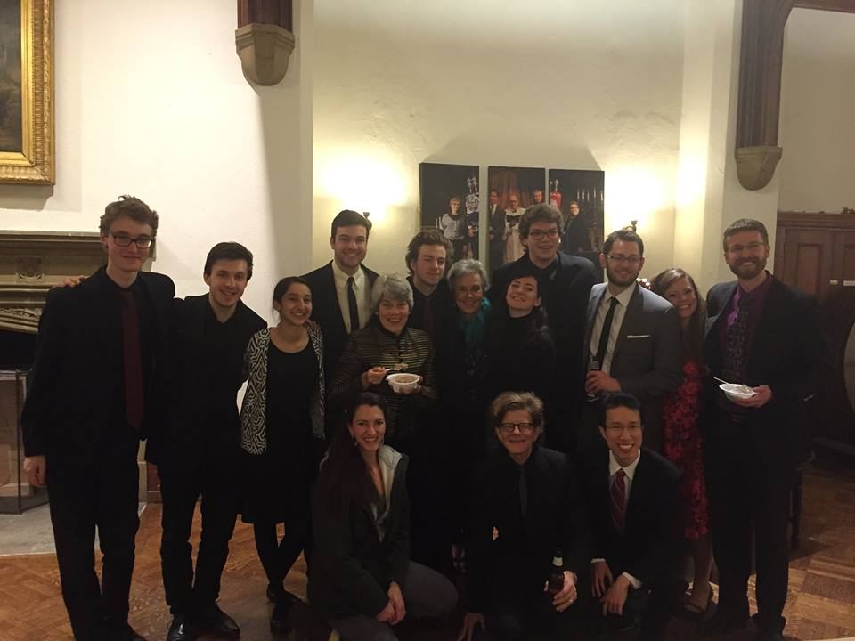 Fellows of the Bach Institute at Emmanuel Music 2016