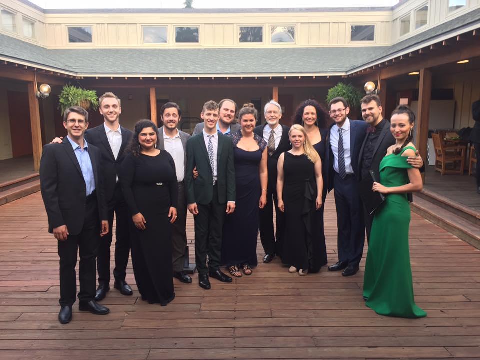 Tanglewood Fellows at Ozawa Hall with Pulitzer Prize Winning Composer John Harbison