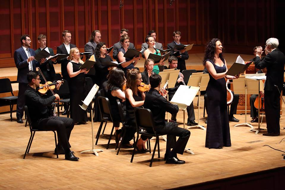 Performance of Bach Cantatas with John Harbison at Tanglewood Music Center