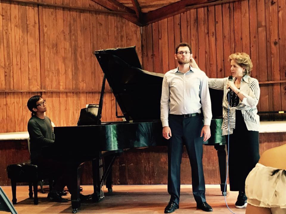 Masterclass with Renee Flemming at Tanglewood Music Center