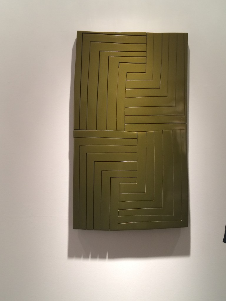 Rescue Green,  2015                                                                                                               ZIM344                                                                         wood panel with urethane paint, 42 1/2 x 26 inches