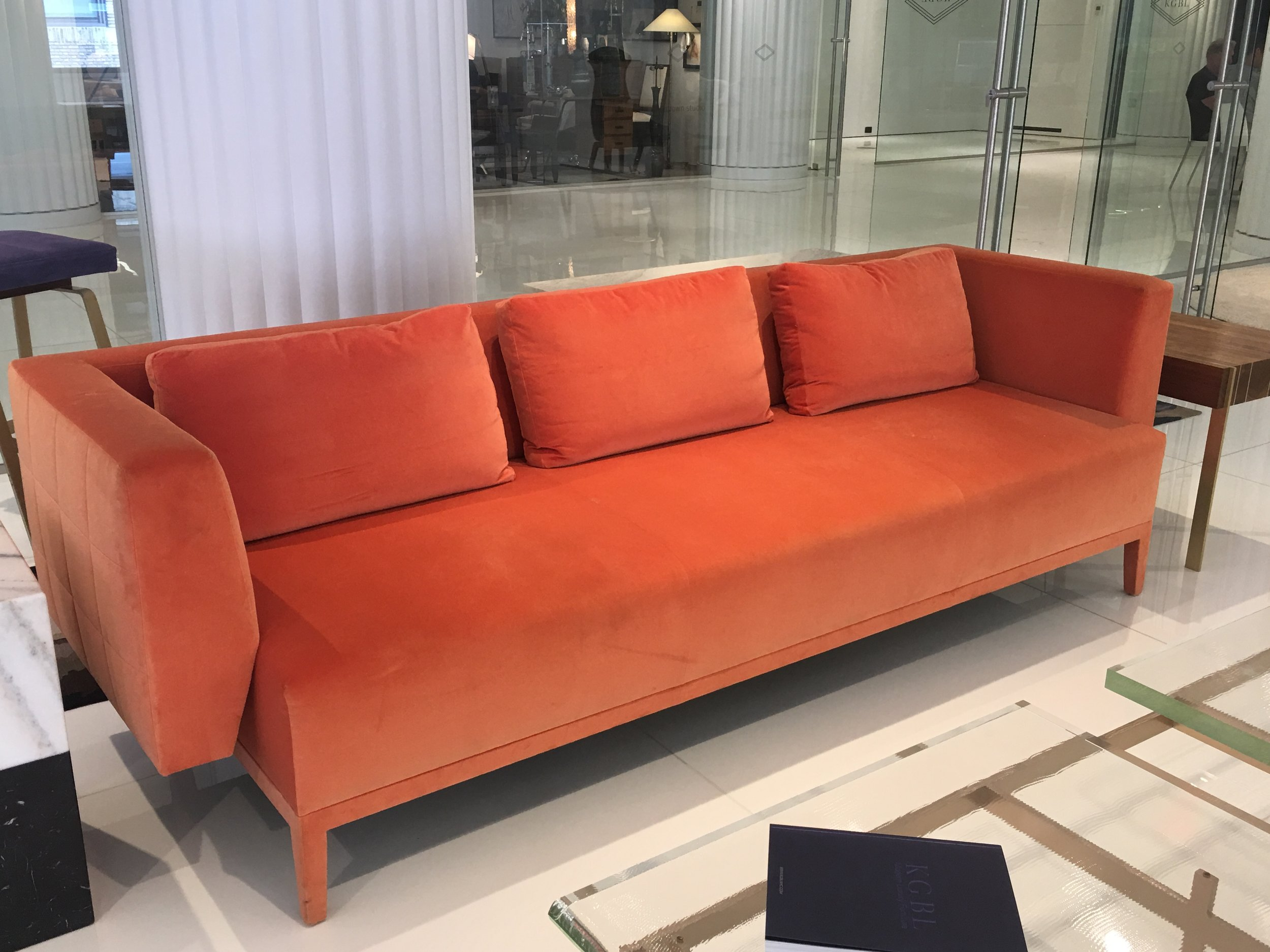 CORAL SOFA AT KGBL SHOWROOM- 200 LEX