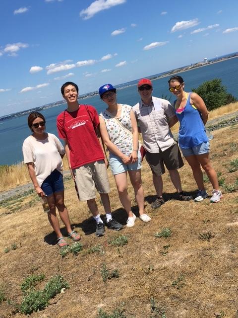 l-r: Sae Yun Kwon, Christopher Wang, Amanda Giang, Ben Brown-Steiner, Katie Mulvaney