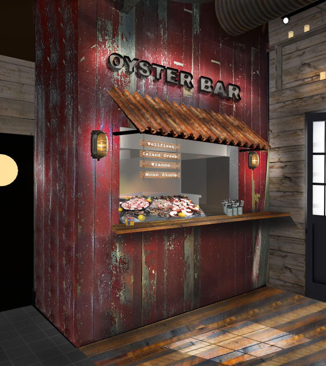 Raw Bar concept rendering