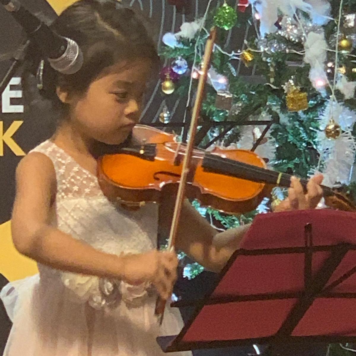M NAKAMURA  (2018) Prep Test for Violin
