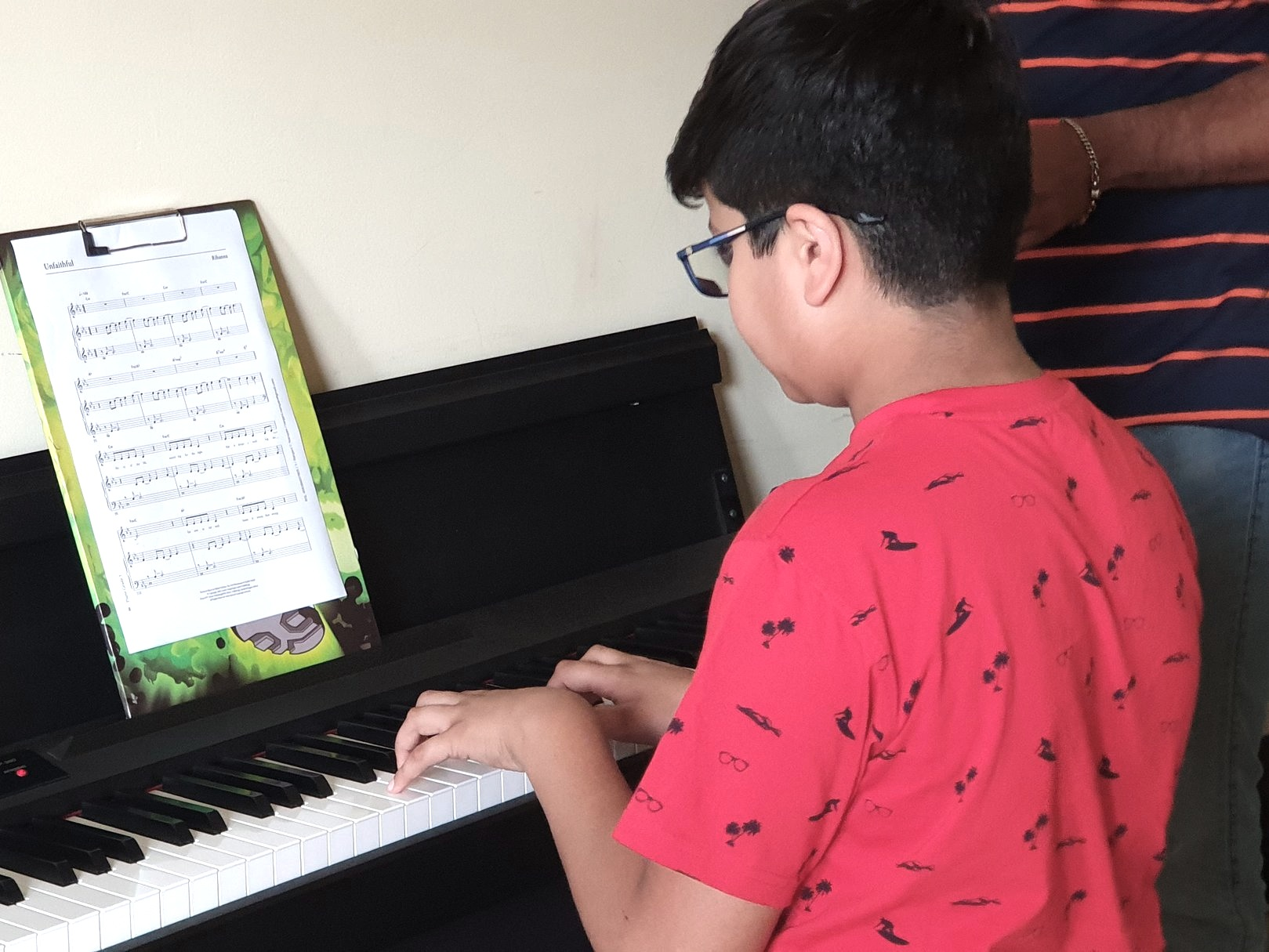 Teaching style - Lessons, Events, Assessments and Projects (LEAP) — are the four pillars of our music education program. Students are encouraged to perform, take assessment and work on projects to help them develop skill and confidence.