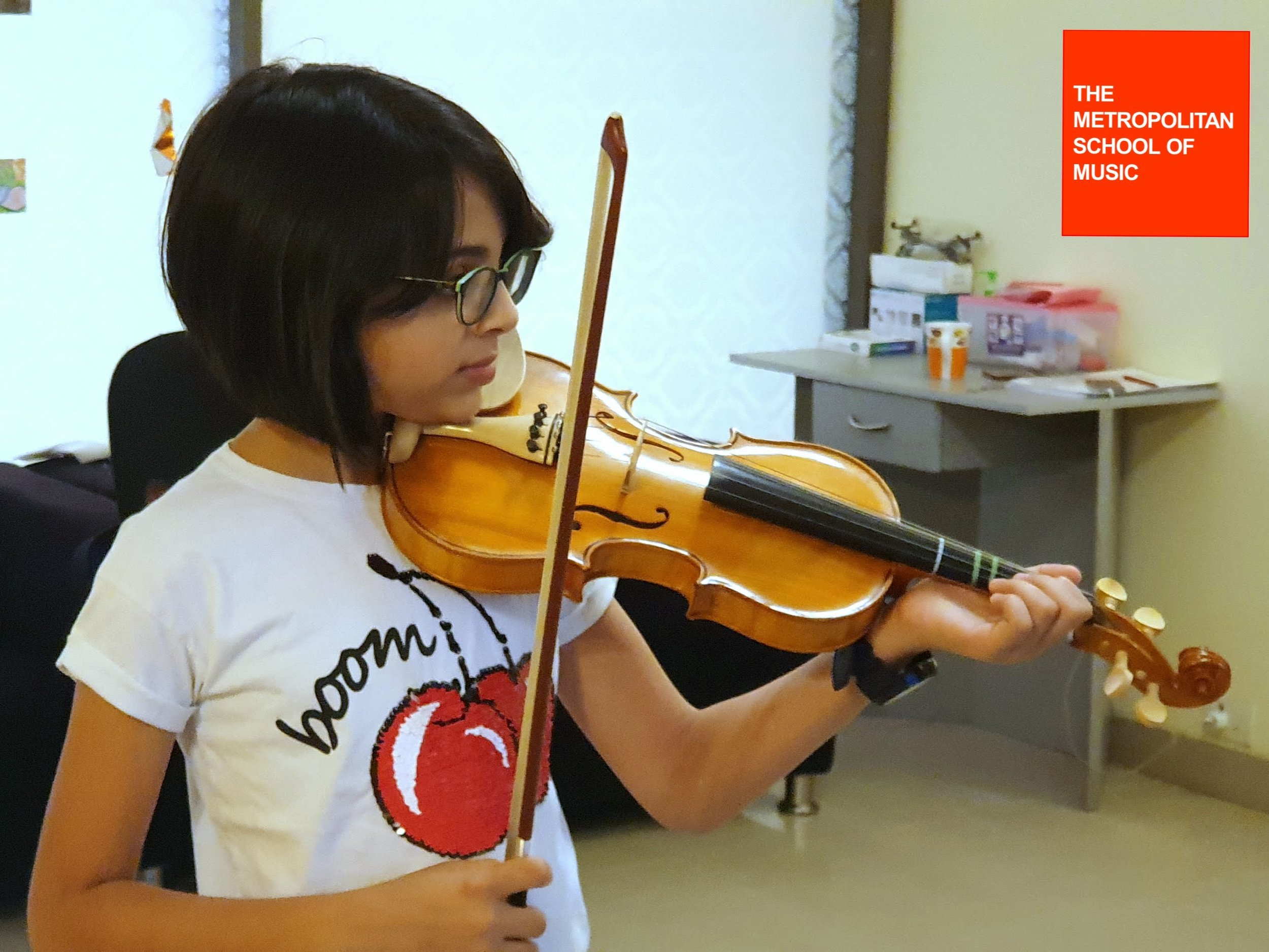 AGNEYA GHOSAL  (2018) Grade 1 Violin - Distinction