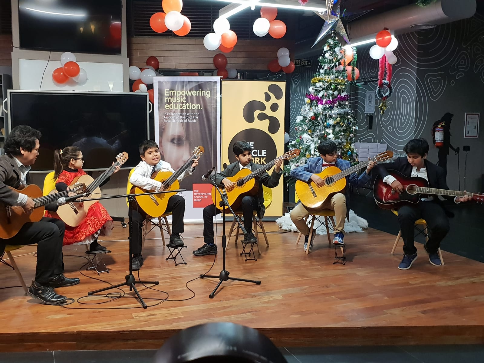 MSM Guitar Ensemble  performing at  The Winter Concert 2018