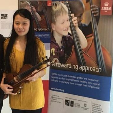 AYUM ZIMIK  (2017) Grade 4 Violin - Distinction