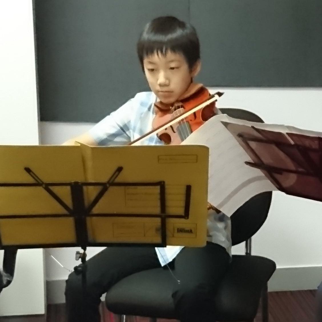 SOMA MATSUI  (2017) Grade 5 Violin - Distinction