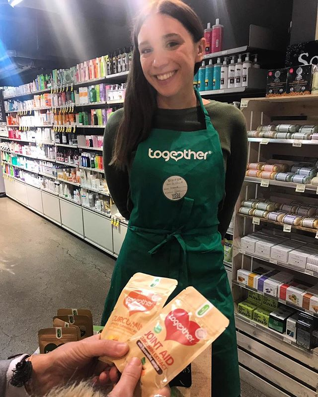 Our newest member of staff already being great in helping people choose the supplement their need from the nature / plant / ocean based supplement company @togetherhealth.  She looks like an angel 👼🏼 ————————— #togetherhealth #togethersupplement #plantbased #health #notfromisolate #noadditives #dietitianapproved #healthpromotion #agrapefruitwithlola #naturalsupplements #foodgrown #easilyabsorbed #brandambassador #healthcare #naturebased #fromplants #healthiswealth