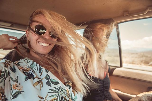 Life is better with the windows down n' hair in your face! #bajacalifornia