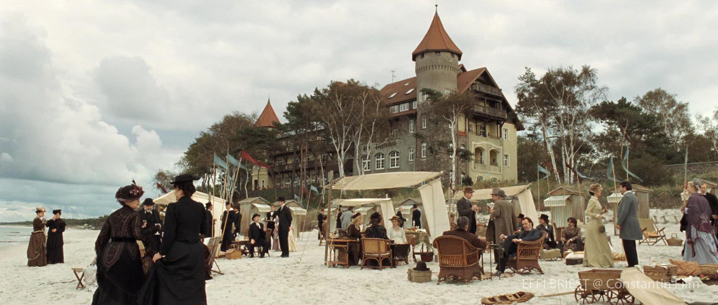 Effi Briest Regie Hermine Huntgeburth Julia Jentsch Filmset Thomas Freudenthal Production Design Szenenbild Hamburg Germany