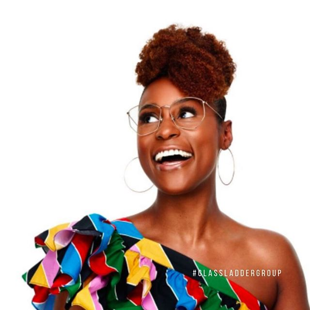 """Today's #womanmotivationwednesday is the amazing @issarae. Issa Rae is an actress, writer, director, producer, and entrepreneur. Her content has garnered over 40 million views and over 425,000 YouTube subscribers (and counting). She first garnered attention for her hit web series, """"The Misadventures of Awkward Black Girl,"""" then later for creating, co-writing, and starring in the HBO television series, Insecure. Praised in her astounding performance in Insecure, she has received two Golden Globe Award nominations for Best Actress – Television Series Musical or Comedy and a Primetime Emmy Award nomination for Outstanding Lead Actress in a Comedy Series.  In addition to making Glamour Magazine's """"35 Under 35"""", Forbes' """"30 Under 30"""" and Entertainment Weekly's """"Breaking Big"""" lists, The Misadventures of Awkward Black Girl was the recipient of the coveted Shorty Award for Best Web Show. Issa's first book, a collection of essays, is a New York Times Best Seller and """"Insecure"""" has aired three seasons garnered multiple awards and nominations.  Then, Issa Rae Productions came to life, where she began releasing other content on her original channel, predominantly created by and starring people of color. With Issa Rae Presents, Issa is creating a space for creators of all stripes to create and share their own stories. Just last week, she received the first ever Emerging Entrepreneur Award at the 2019 Women In Film Annual Gala. You should definitely check out her acceptance speech @issarae #GLGculturetip #glassladdergroup #glg #blackowned #blackownedbusiness #womenowned #womenownedbusiness #WOSB #womanmotivationwednesday #girlboss #issarae #unapologetic"""
