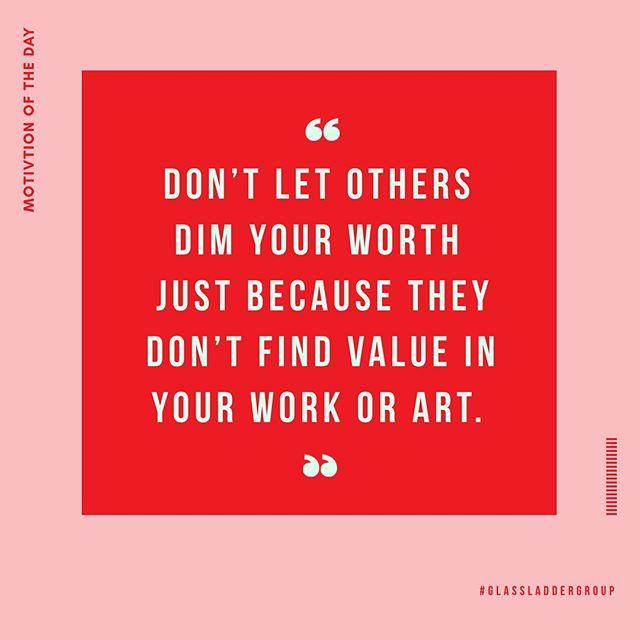 Repost from @girlboss ✨Today's  #mondaymotivation by the lovely @partyskinny  No matter what, your work, your craft, and your passions matter.  Keep doing YOU! 🙌🏽📣 #GLGculturetip #glassladdergroup #glg #blackowned #blackownedbusiness #womenowned #womenownedbusiness #WOSB #mondaymotivation #girlboss #motivationalquotes