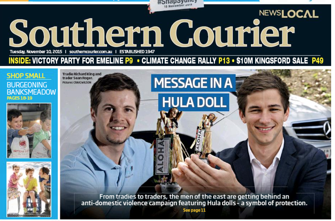 southern courier, 10 november 2015 Daily telegraph