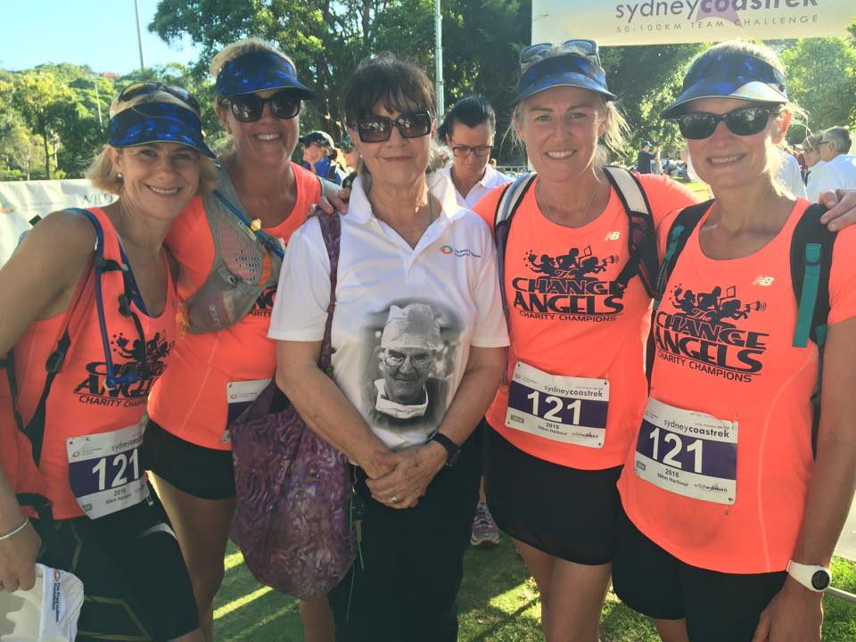 The CHANGE ANGELS COAST TREK 2016 with gabby hollows