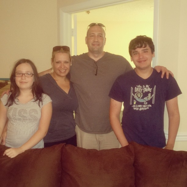 The Eguia's: What a great family. Thank you for making Kingside Moves your move!