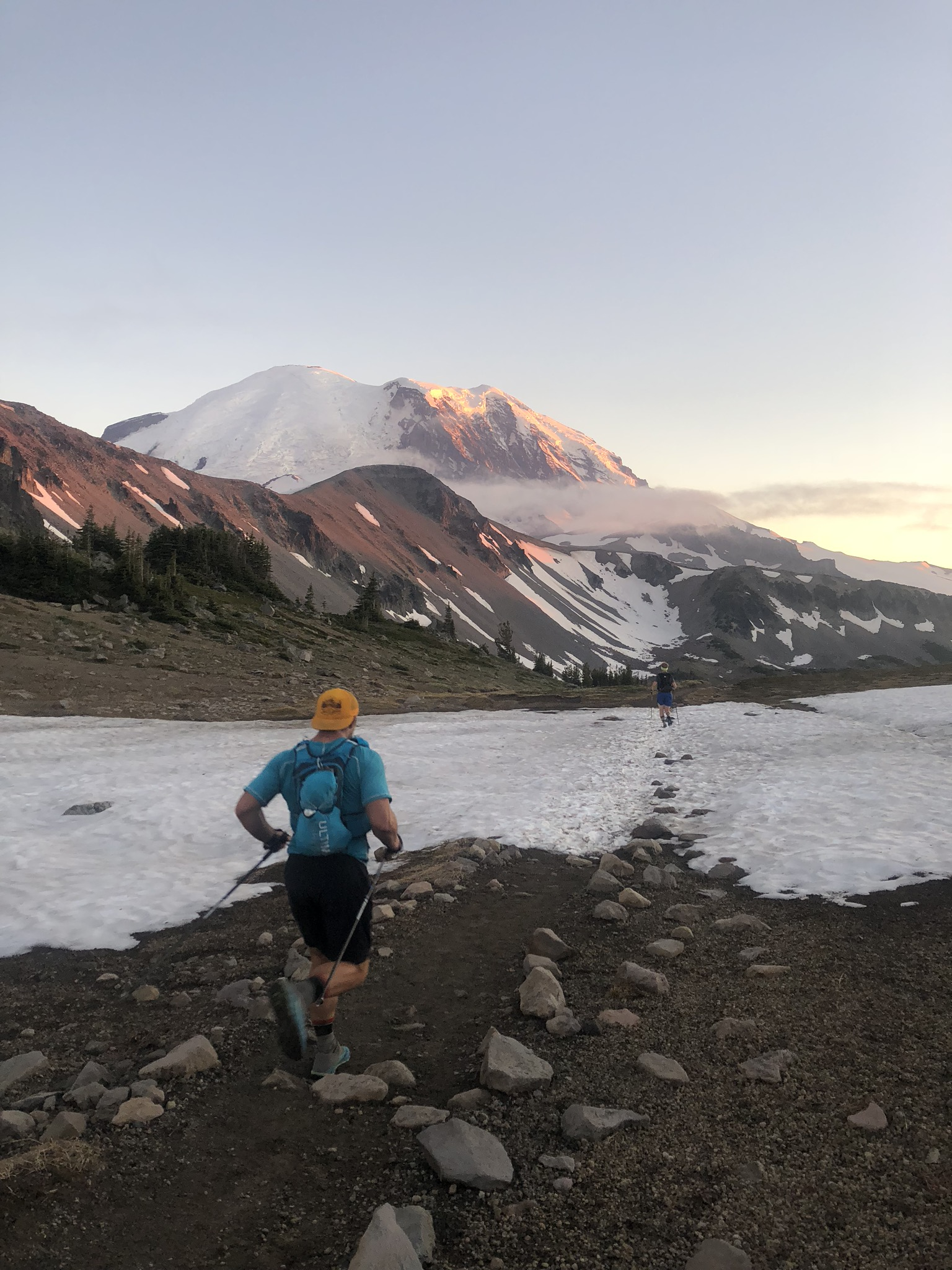 Incredible alpine running kicked off our final leg of the Rainier Infinity Loop