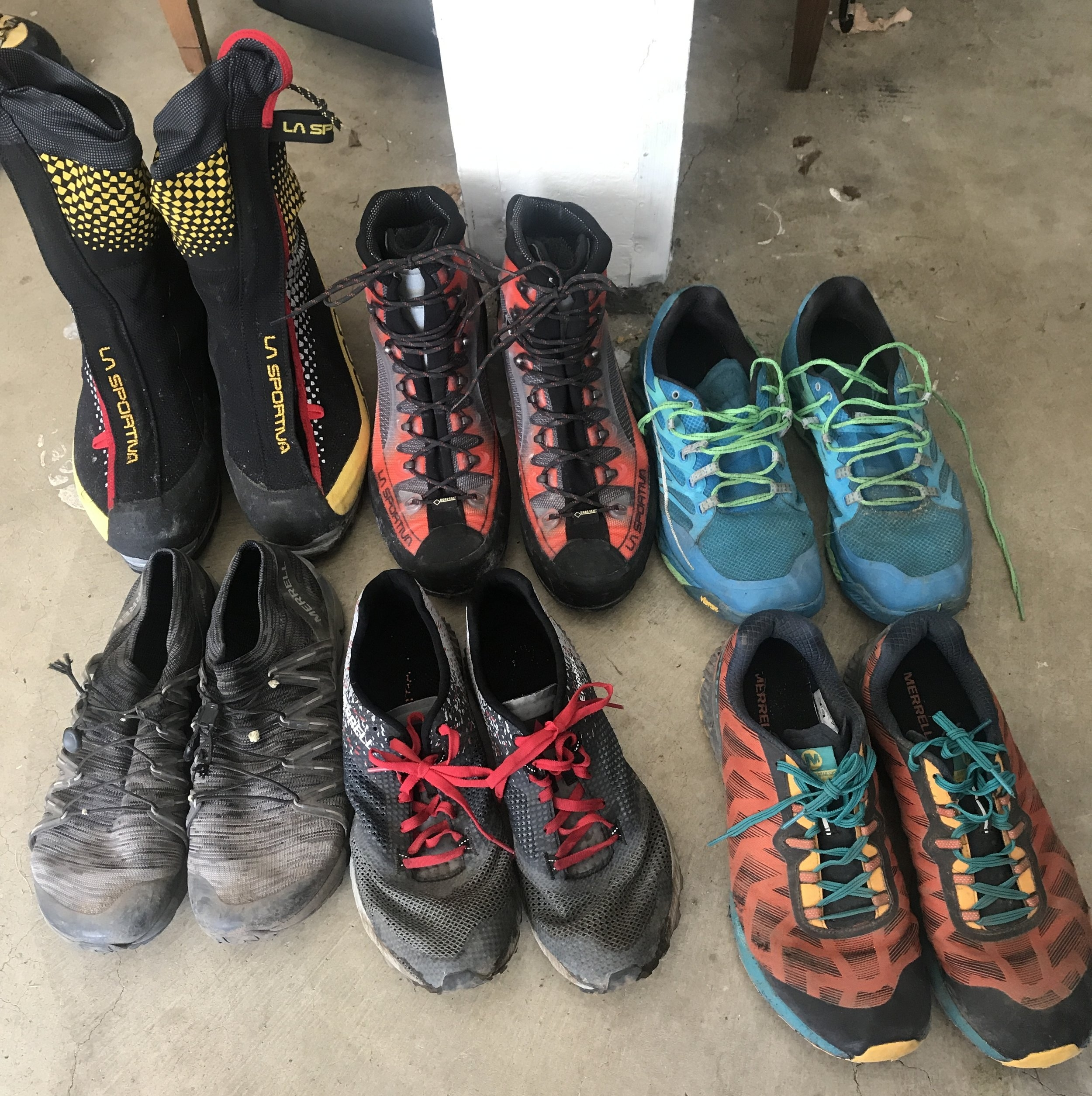 The complete footwear arsenal