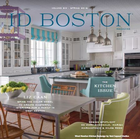 ID Boston Magazine. by boston design center. volume6. page68. spring. 2016