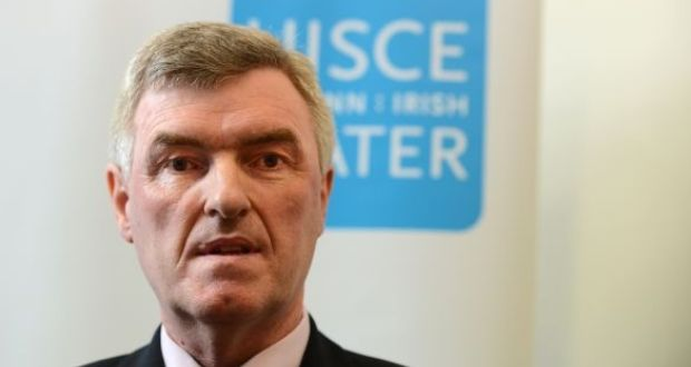 John Tierney, the outgoing chief executive of Irish Water. File photograph: Cyril Byrne/The Irish Times